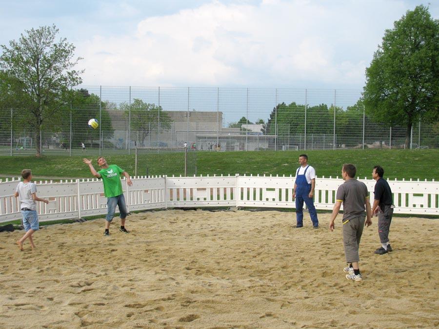 Beach-Volleyball-Feld Stetten